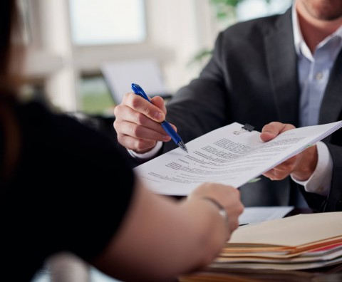 Can a couple write their own separation contract and have it be legally binding and officially recognized?